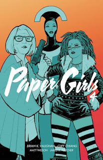 Paper Girls tom 4 okładka