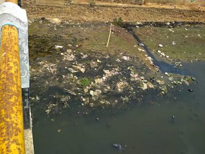 Gambar 5  Sampah yang Terdapat di Sungai Cidurian Titik 8
