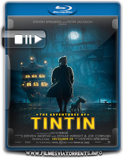 As Aventuras De Tintim Torrent - BluRay Rip 1080p Dual Áudio