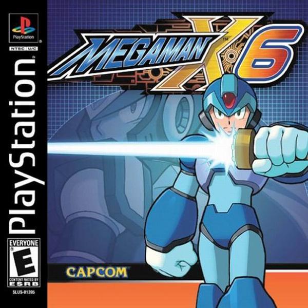 Mega Man X6 - PSX - Portada