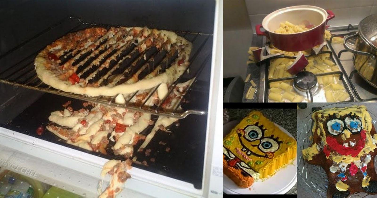 7 photos hilarantes des pires recettes rat es en cuisine tr s dr les je t 39 aime maman - Recette de cuisine drole ...