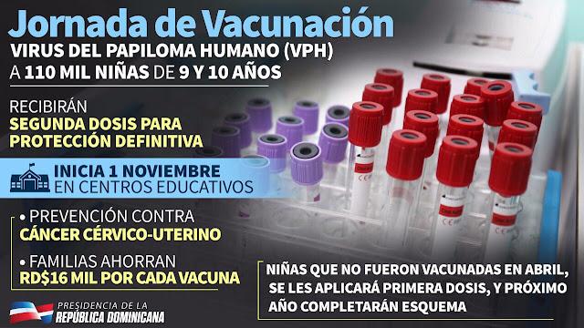 Jornada de vacunación Virus de Papiloma Humano (VPH)