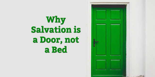 This 1-minute devotion refutes a common belief among Christians about how we are to rest in our salvation. #BibleLoveNotes #Bible
