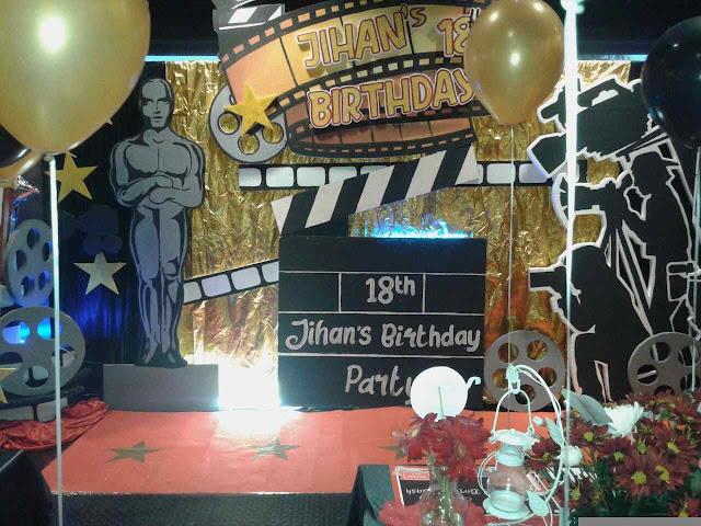 Dekorasi ulang tahun ke 18th Birthday