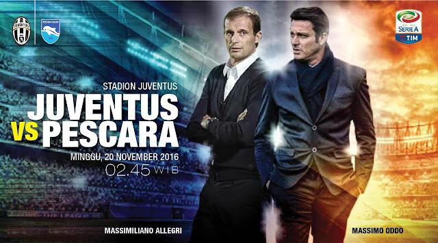 Prediksi Juventus Vs Pescara