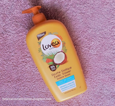 Opinión Gel de ducha Lovea Nature Exotic Shower
