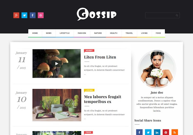 Blogger用レスポンシブテンプレート, Responsive templates for Blogger, Blogger用的响应性模板