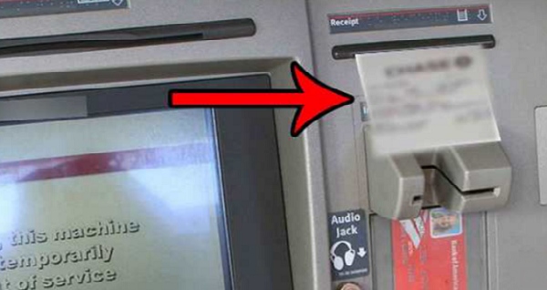 WARNING: Don't Take Receipts From Cash Registers And ATM's After Transaction! FIND OUT WHY HERE!