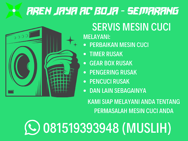Jasa Servis Mesin Cuci Semarang