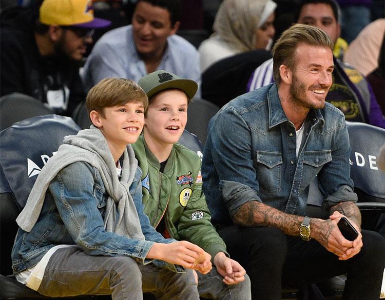 David Beckham Victoria bechkam happy married-life