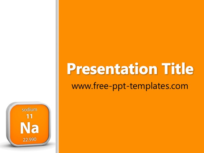 sodium ppt template, Modern powerpoint