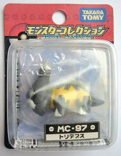 Bastiodon Pokemon figure Tomy Monster Collection MC series