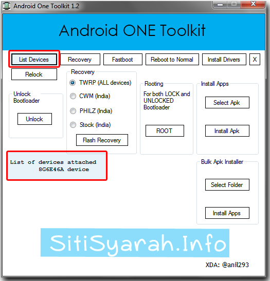 Unlock Bootloader Android One