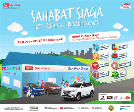 Promo Mudik Lebaran 2018 Mobil Baru Daihatsu