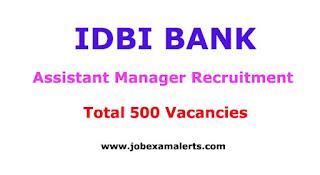 IDBI Bank Recruitment | Assistant Manager