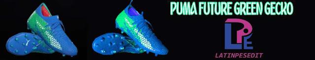 Puma Future Green Gecko Boots PES 2018