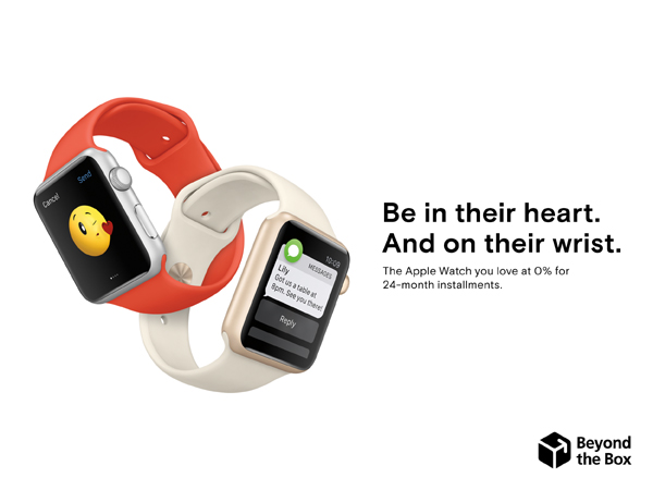 Apple Watch at Beyond The Box