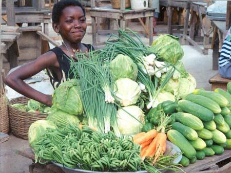 Okra originated from present-day Ethiopia in Africa