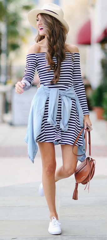 Off-shoulder-pretty-dress