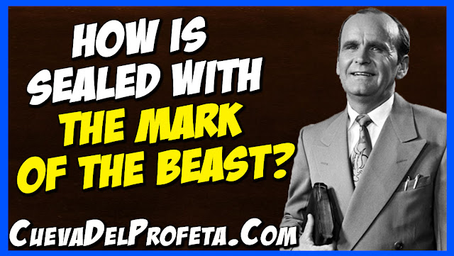 To reject the Gospel is to be sealed with the mark of the beast - William Marrion Branham Quotes