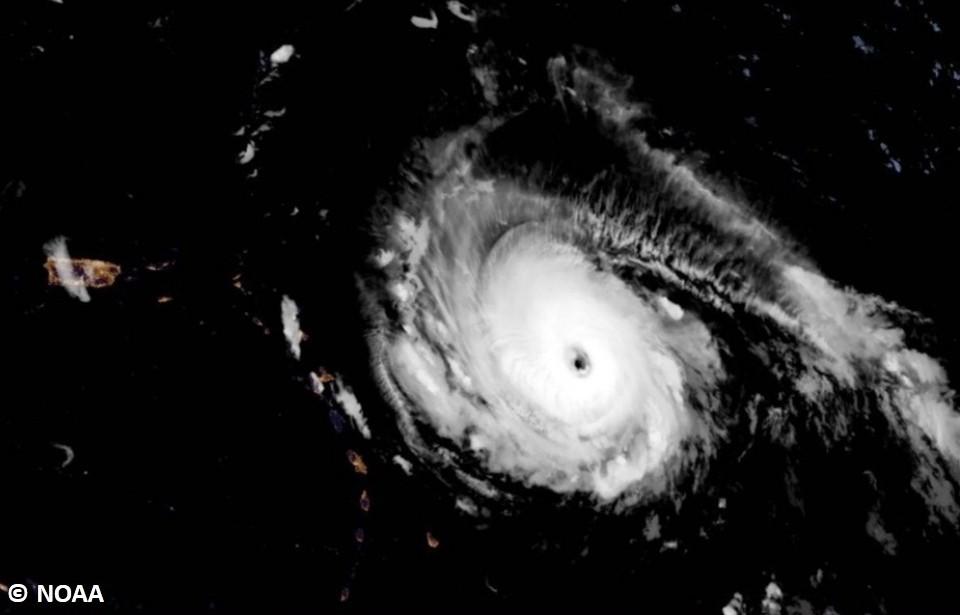 كيف تحول إعصار إيرما إلى عاصفة مدمرة ؟