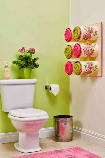 How to recycle decorate your bathroom with recycled stuff - How to decorate my bathroom ...