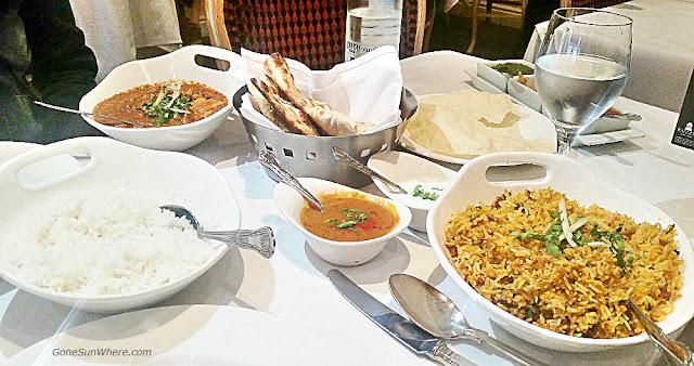 Food at Gaylord London