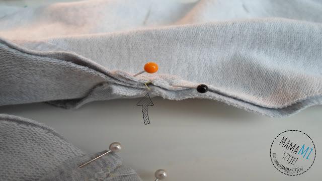 jak uszyć spodnie dla dziecka z klinem w kroku