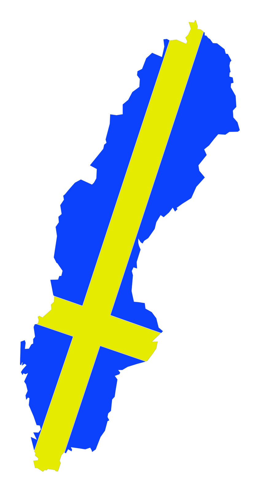 Sweden Flag Pict...M Alphabet Wallpaper