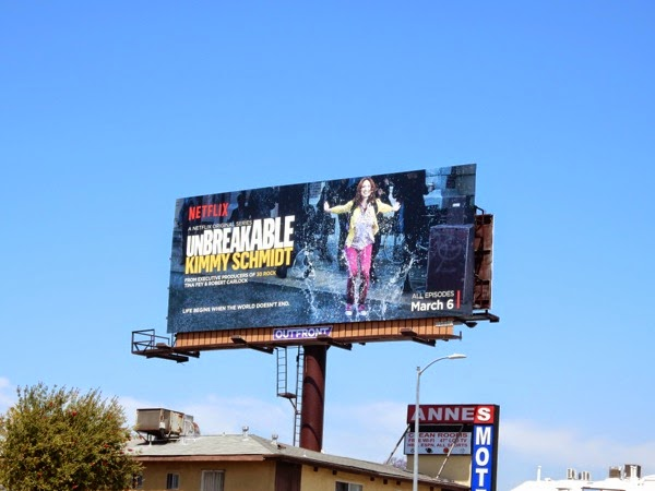 Unbreakable Kimmy Schmidt series 1 billboard
