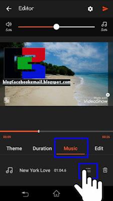 cara membuat video slideshow dengan musik di hp android