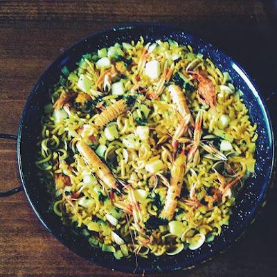 Cocina conmigo: Fideuá