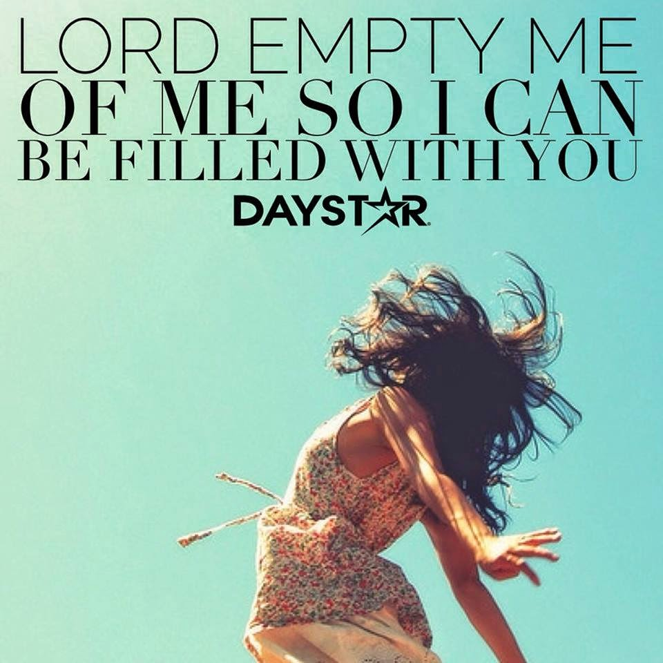 Lord, Empty, Filled,