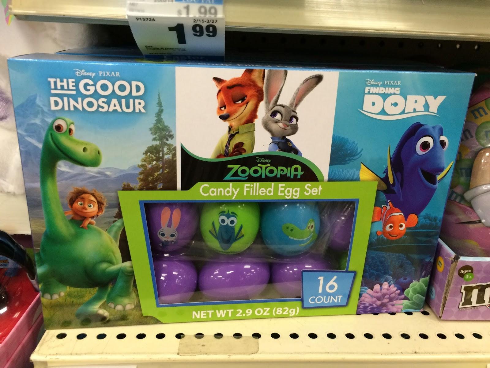 Dan the pixar fan disneypixar easter basket ideas 2016 finding disney pixar easter egg hunt zootopia good dinosaur finding dory negle Gallery
