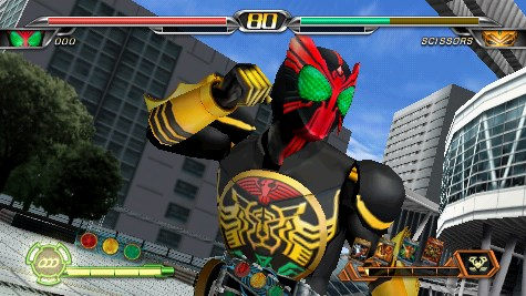 Download Game Kamen Rider Climax Heroes OOO Iso PPSSPP Untuk Android