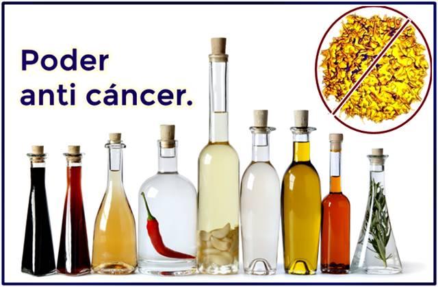 Vinagres con poder para combatir el cáncer
