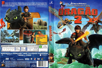 Filme Como Treinar seu Dragão 2 (How to Train Your Dragon 2) DVD Capa