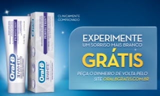 Cadastrar Promoção Oral B Grátis Reembolso do Dinheiro