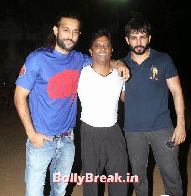 Akhil Kapur, Anand Kumar and Jay Bhanushali