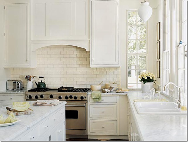 Frank Babb Randolph white kitchen