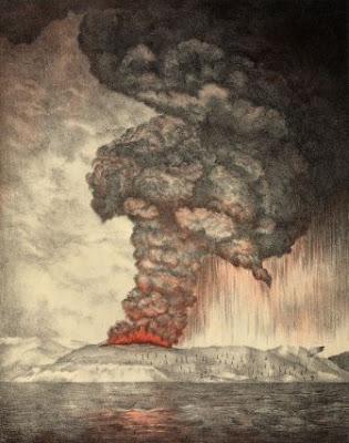 Fakta Letusan Dahsyat Gunung Krakatau Tahun 1883