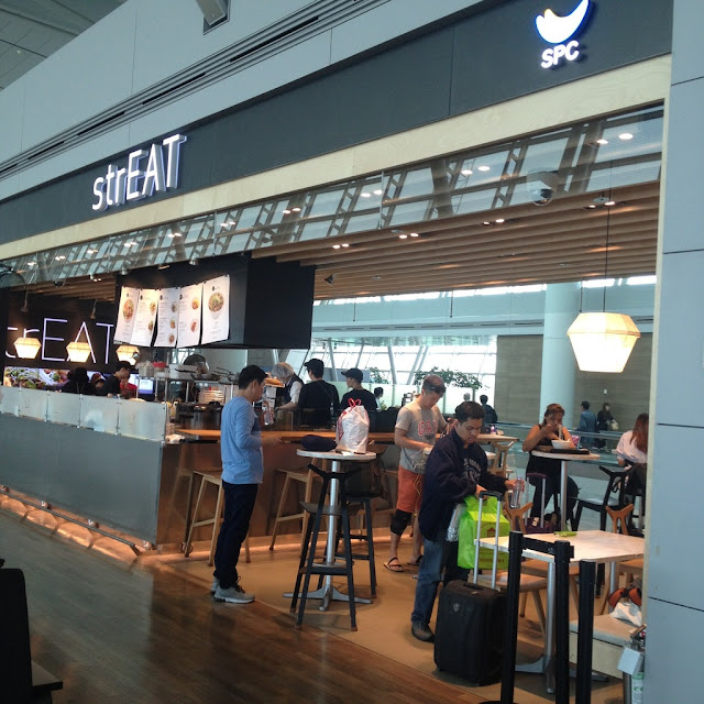 airport cafe in Incheon South Korea