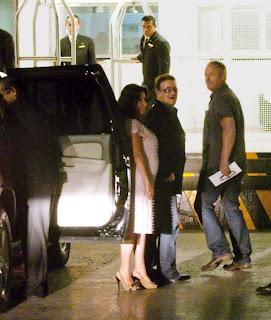 Bono en Mexico 2011