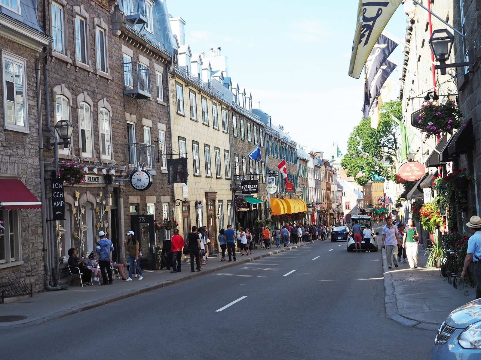 Rue St. Louis, Quebec City