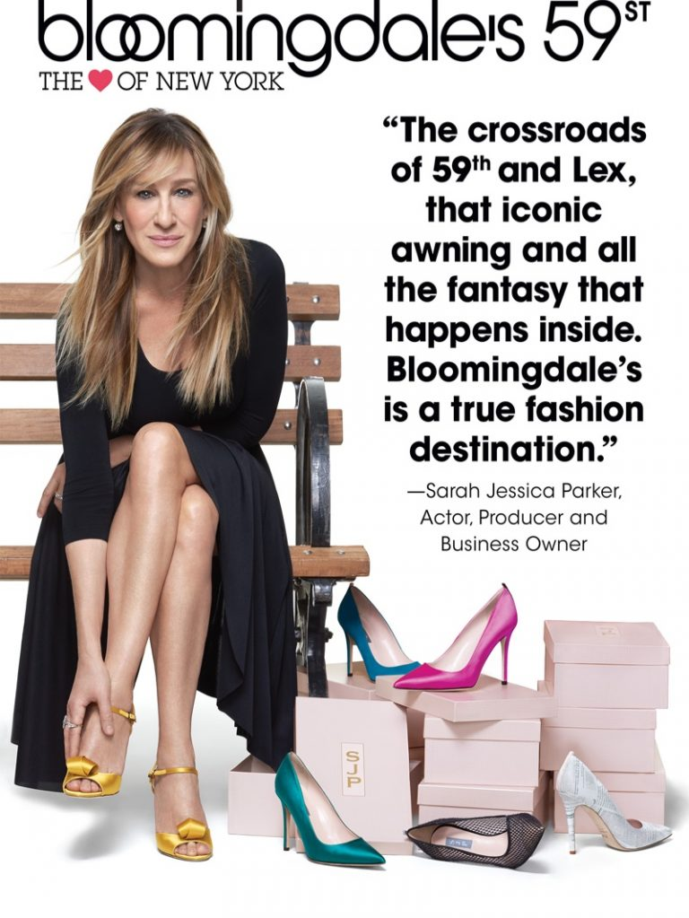Sarah Jessica Parker appears in Bloomingdale's 'Heart of N.Y.' campaign