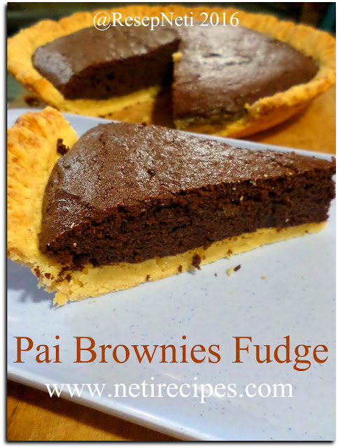 resep pai brownies fudge