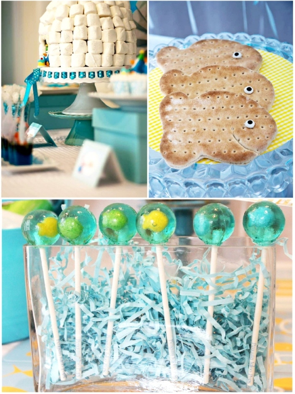 Kids Party Ideas | A Penguin Frozen Igloo Birthday - BirdsParty.com