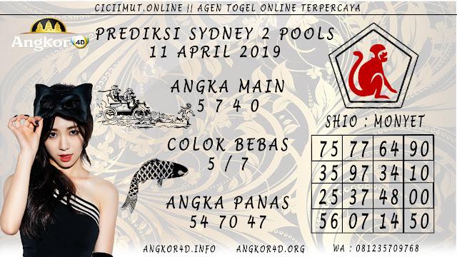 Prediksi Angka Jitu SYDNEY 2 POOLS 11 APRIL 2019