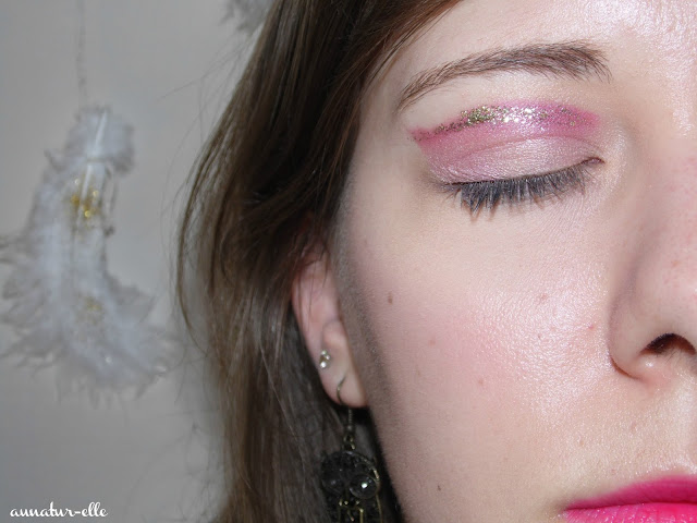 cut crease fushia