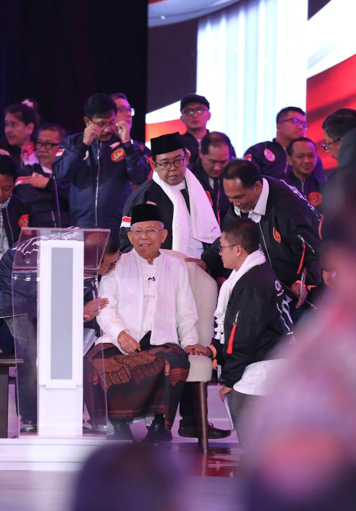 Soal Terorisme, Jawaban KH Ma'ruf Amin Dipersoalkan Netizen